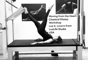 LUZ A. LOVERN WORKSHOP on 8-9 June in QPILATES